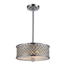 Elk Lighting 31101/3 Genevieve Pendant / Semi-Flush Mount