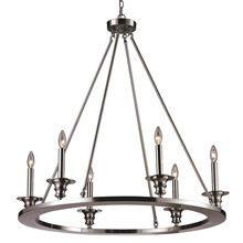Elk Lighting 31225/6 Port Solerno Chandelier