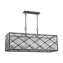 Elk Lighting 32125/5 Radley 5 Light Chandelier In Malted Rust