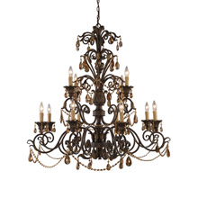 Elk Lighting 3345/8+4 Rochelle Twelve Light Chandelier