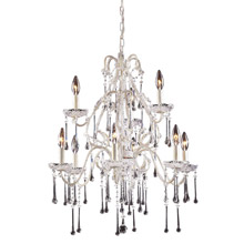 Elk Lighting 4003/6+3CL Crystal Opulence Nine Light Chandelier