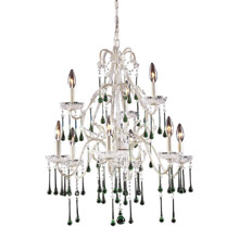 Elk Lighting 4003/6+3LM Crystal Opulence Nine Light Chandelier