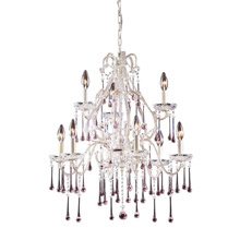 Elk Lighting 4003/6+3RS Crystal Opulence Nine Light Chandelier