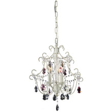 Elk Lighting 4041/3 Crystal Minique Mini Chandelier