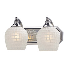 Elk Lighting 570-2C-WHT Vanity Light