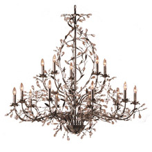 Elk Lighting 8056/10+5 Crystal Circeo Fifteen Light Chandelier