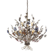 Elk Lighting 9108/6+3 Crystal Brillare Nine Light Chandelier