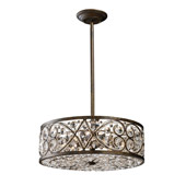 Crystal Amherst Pendant - Elk Lighting 11287/6