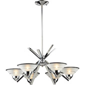 Contemporary Refraction Chandelier - Elk Lighting 1475/6