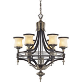 Classic/Traditional Georgian Court Chandelier - Elk Lighting 2431/6