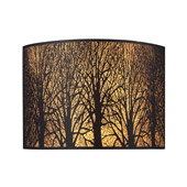 Casual Woodland Sunrise Wall Sconce - Elk Lighting 31070/2