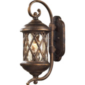 Classic/Traditional Barrington Gate Exterior Wall Sconce - Elk Lighting 42030/1