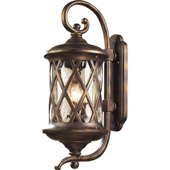 Classic/Traditional Barrington Gate Exterior Wall Sconce - Elk Lighting 42032/3