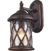Classic/Traditional Barrington Gate Exterior Wall Sconce - Elk Lighting 42035/1
