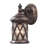Classic/Traditional Barrington Gate Outdoor Wall Mount Lantern - Elk Lighting 42036/1