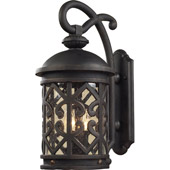 Classic/Traditional Tuscany Coast Exterior Wall Sconce - Elk Lighting 42061/2