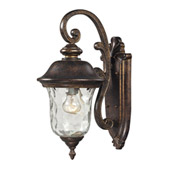 Traditional Lafayette Outdoor Wall Lantern - Elk Lighting 45020/1