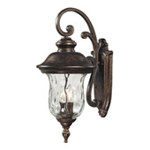Traditional Lafayette Outdoor Wall Lantern - Elk Lighting 45022/3