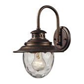 Traditional Searsport Outdoor Wall Lantern - Elk Lighting 45030/1