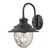 Traditional Searsport Outdoor Wall Lantern - Elk Lighting 45040/1