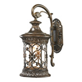 Orlean 1 Light Outdoor Sconce In Hazelnut Bronze - Elk Lighting 45080/1