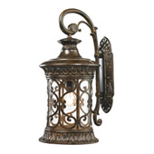 Orlean 1 Light Outdoor Sconce In Hazelnut Bronze - Elk Lighting 45082/1