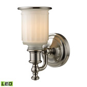 Acadia 1 Light Led Vanity In Brushed Nickel - Elk Lighting 52000/1-LED