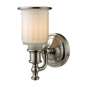 Acadia 1 Light Vanity In Brushed Nickel - Elk Lighting 52000/1