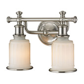 Acadia 2 Light Vanity In Brushed Nickel - Elk Lighting 52001/2