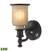 Acadia 1 Light Led Vanity In Oil Rubbed Bronze - Elk Lighting 52010/1-LED