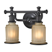 Acadia 2 Light Vanity In Oil Rubbed Bronze - Elk Lighting 52011/2