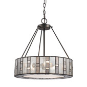 Ethan 3 Light Chandelier In Tiffany Bronze - Elk Lighting 70212/3