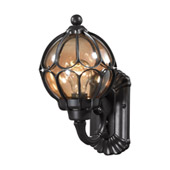 Madagascar 1 Light Outdoor Sconce In Hazelnut Bronze - Elk Lighting 87020/1
