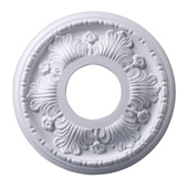 Classic/Traditional Acanthus Medallion - Elk Lighting M1000WH