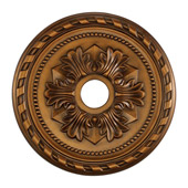 Classic/Traditional Corinthian Medallion - Elk Lighting M1005AB