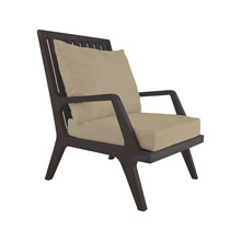ELK Home 2317012S-CO Teak Patio Lounge Chair Cushions in Cream (2-piece Set)
