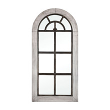 ELK Home 3116-036 Upland Mirror in Antique German Silver and Bronze