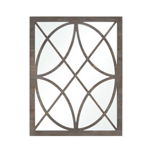 ELK Home 3116-049 Louisville Mirror in Grey Stained Fir