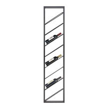 ELK Home 3187-013 Wavertree Hanging Wine Rack in Black - Angled