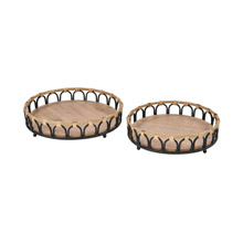 ELK Home 3200-240/S2 Fisher Island Trays (Set of 2)