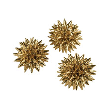 ELK Home 3212-1017/S3 Spangle Ornamental Sculptures (Set of 3)