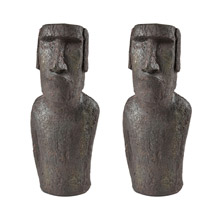 ELK Home 3212-1038/S2 Moai Quarry Decorative Sculpture I
