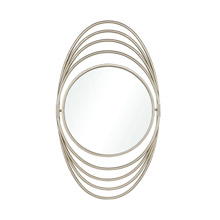 ELK Home 326-8752 Chrysler III Mirror in Silver
