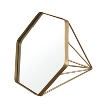 ELK Home 326-8753 Madsion Table-top Mirror in Gold