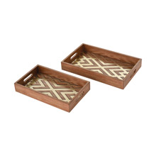 ELK Home 351-10567/S2 Choctaw Trays - Set of 2