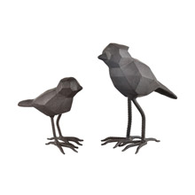ELK Home 351-10700/S2 Pecking Order Decorative Birds (Set of 2)