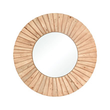 ELK Home 351-10739 Aviation Mirror in Natural Wood