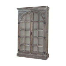 ELK Home 605007WG-1 Manor Arched Door Display Cabinet