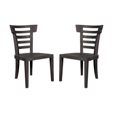 ELK Home 6917502P-AS Teak Patio Morning Chairs (Set of 2)