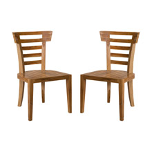 ELK Home 6917502P-ET Teak Patio Morning Chairs (Set of 2)